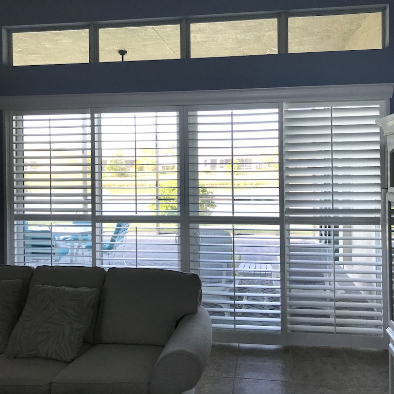 Enlightened Style Polyresin Shutters