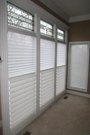 Pleated Shades In Santa Ana Provide Multiple Advantages