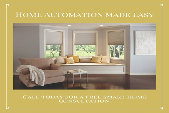 How Home Automation in Frankfort in Blinds Will Improve Your Work at Home Productivity