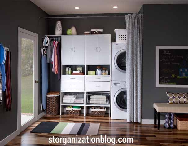 Our Last Unique Use Of Curtains In Your Laundry Room Is Inspired By None Other Than Utility Sink Yeah That Thing We All Love Having It When