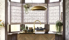 Roman Shades by Budget Blinds
