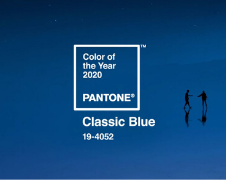 The Pantone 2020 Color of the Year is… Classic Blue