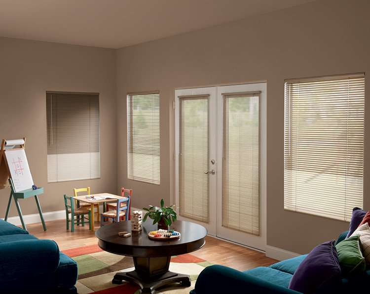 Why Mini Blinds in East Meadow Are Perfect for Entry Doors