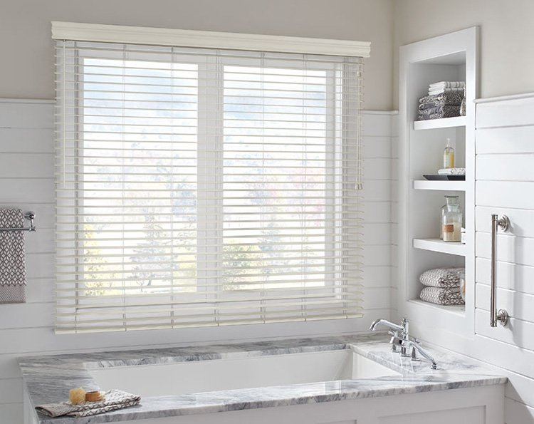 Top Moisture-Resistant Window Treatments in Kent for the Bathroom and Kitchen