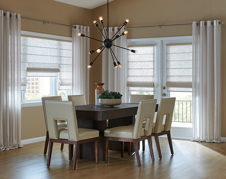 Why You Should Consider Outside-Mounted Roman Shades in Caldwell