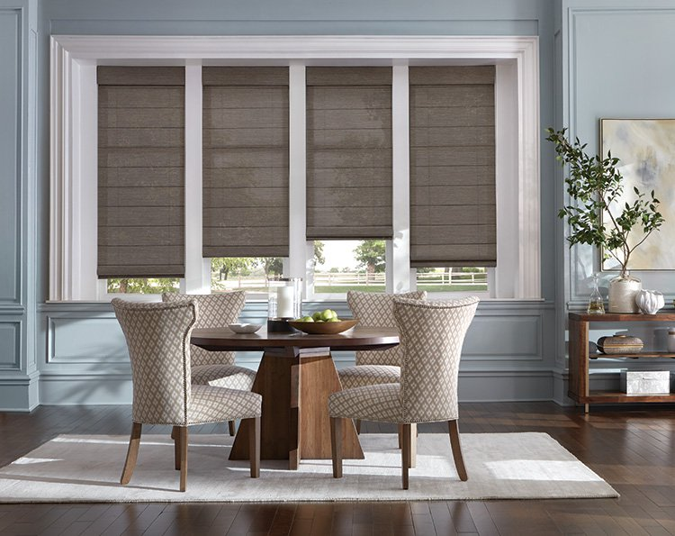 Custom Roman Shades Offer Beautiful Solutions for Your Windows