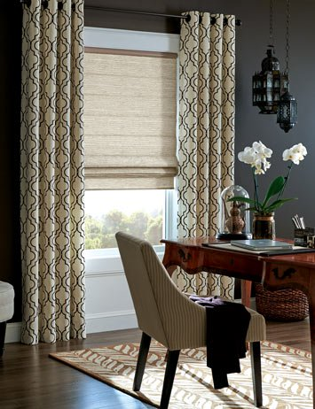Woven Wood Shades With D