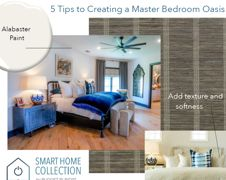 5 Tips to Create a Master Bedroom Oasis | Budget Blinds