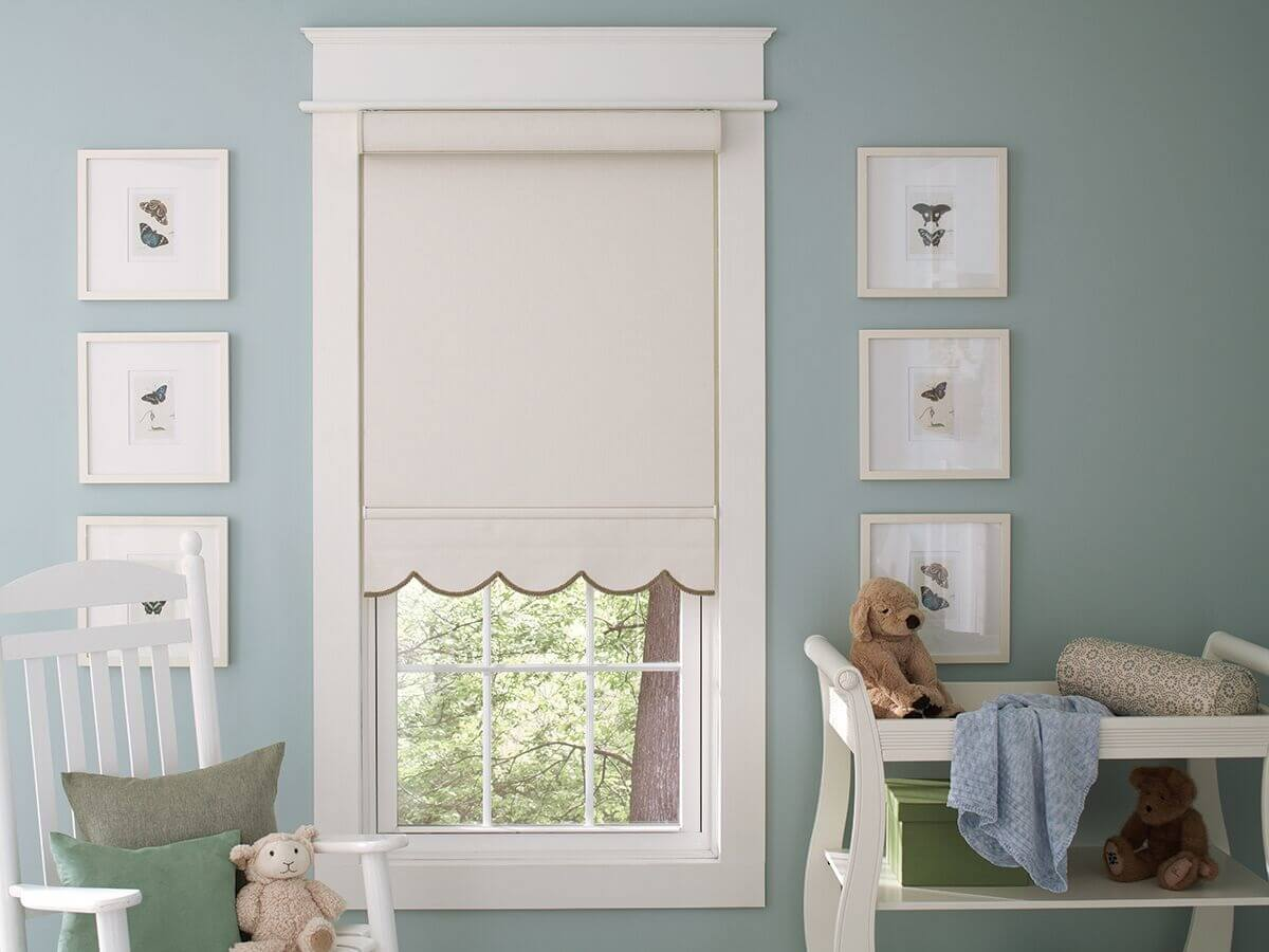 Why Roller Shades in Nampa Are Excellent for a Baby's Nursery