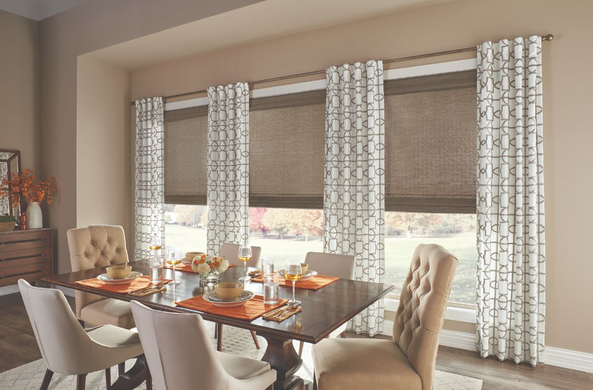 Can I Mix and Match My Window Treatments?