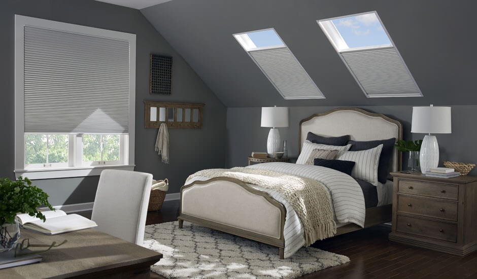 Enjoy Your Skylight Windows at All Times with Custom Window Treatments