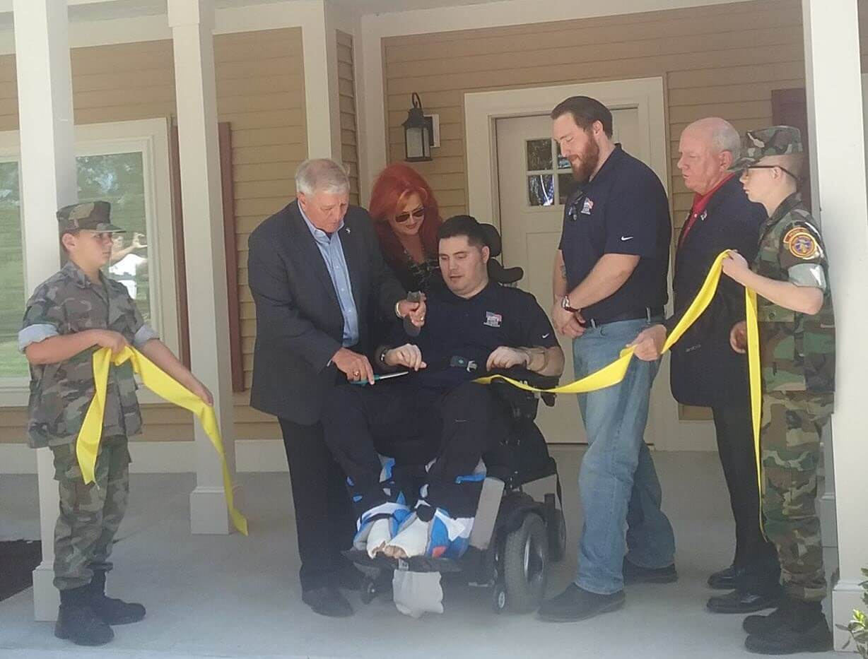 Forever Homes Let Severely Injured Veterans Rebuild Their Lives In Safety And Comfort