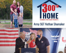Homes For Our Troops Donates Its 300th Specially Adapted Home For A Severely Injured Veteran