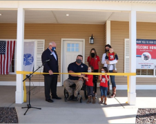 Homes For Our Troops Makes Homecoming Life-Changing For Severely Injured Veterans