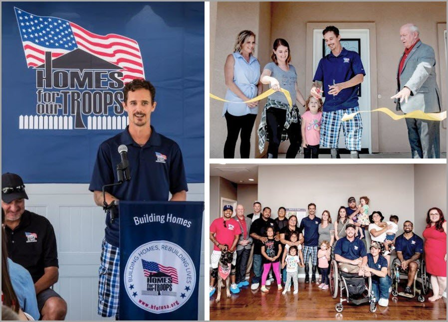Honoring Severely Injured Veterans with Specially Adapted Homes for Independent Living