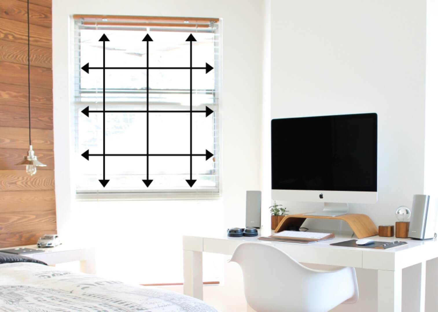 how to measure your window for blinds. Black Bedroom Furniture Sets. Home Design Ideas