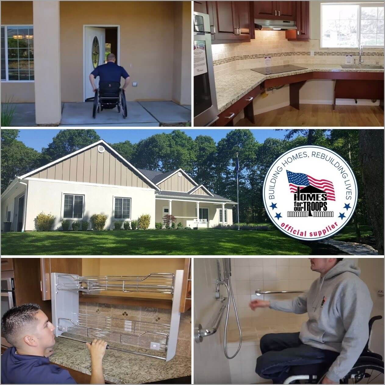 Special Adapted Homes for Injured Veterans