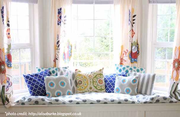 Roman Shades Roller Or Sheer Are All Perfect For The Window Seat Scenario