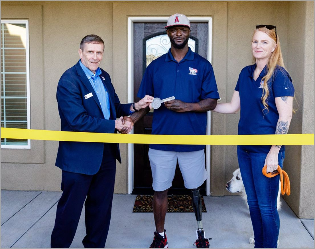 New Home Ribbon Cutting