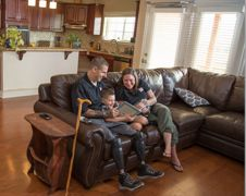 Three Veterans Welcome The New Year In Specially Adapted Homes