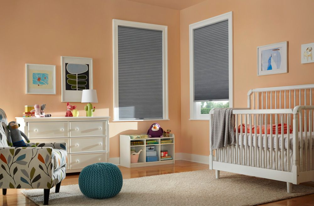 Cellular Shades in Nursery