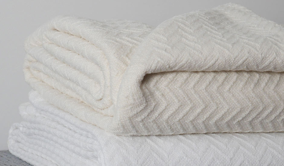 Neutral Cream Beige Throw Blankets