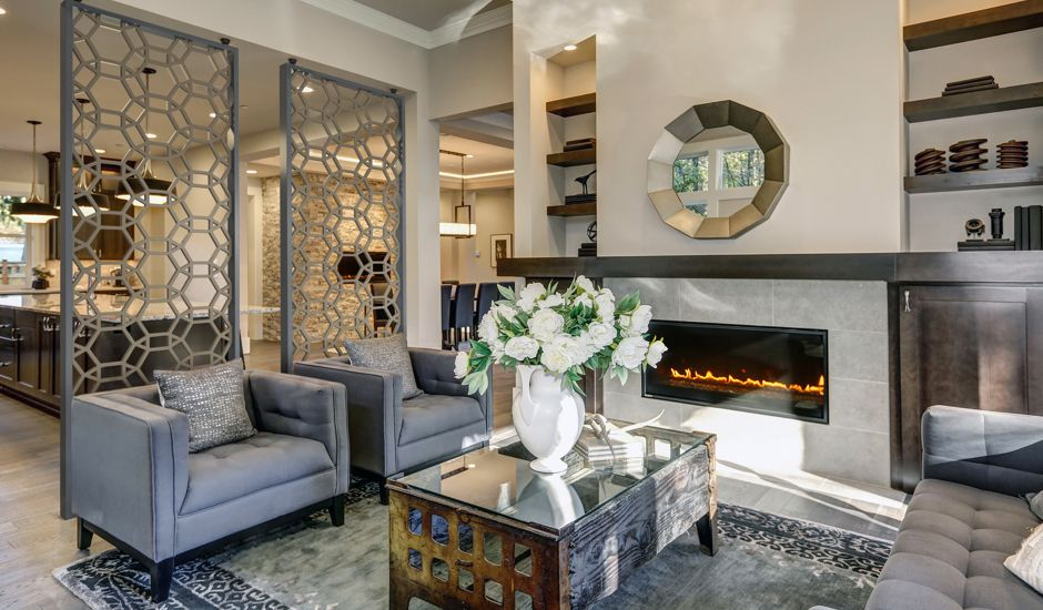 decorative grille living room