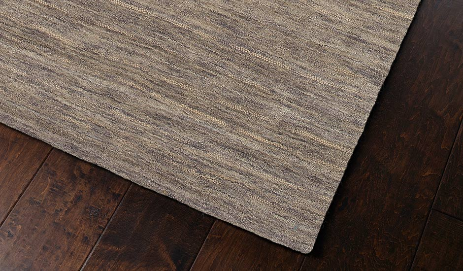 Rafia Granite Wool Room Rug