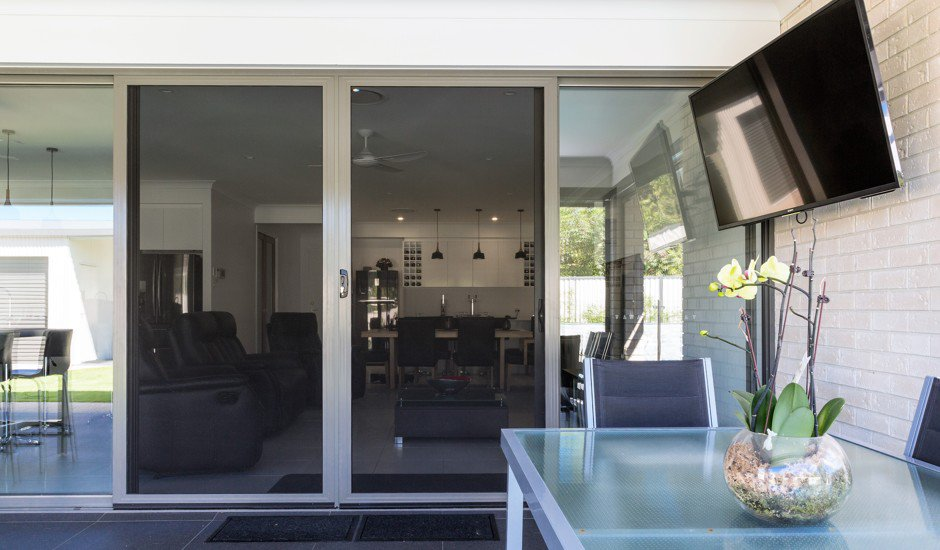 sliding door screen