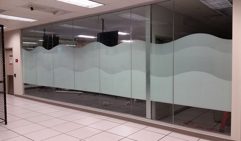 Commercial Server Room Decorative Window Film