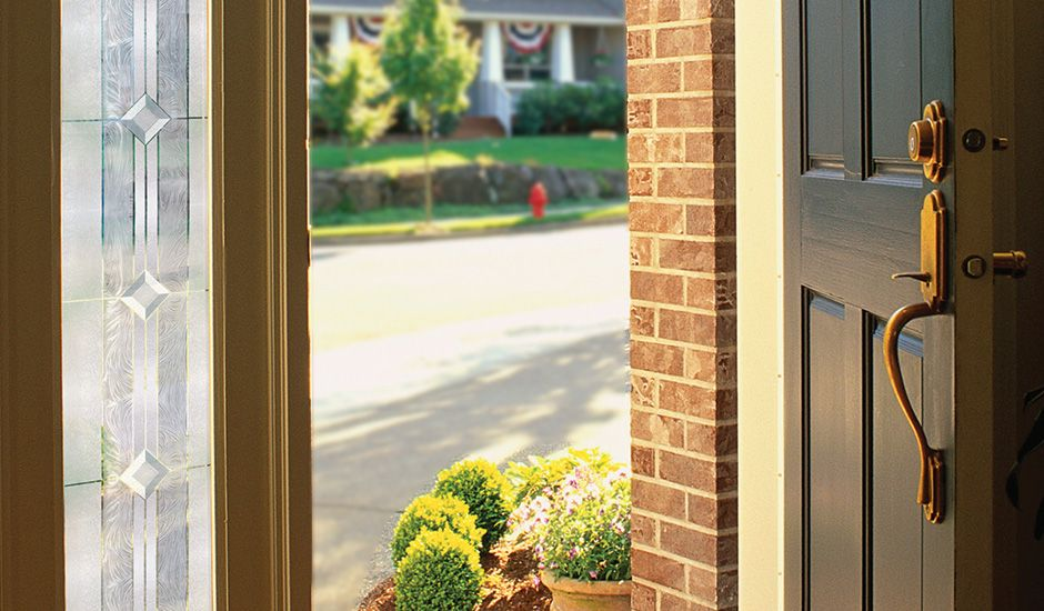 Vienna Accent Window Film Front Door