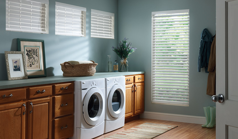 G Budget Blinds Composite Blinds Shutters Laundry Room