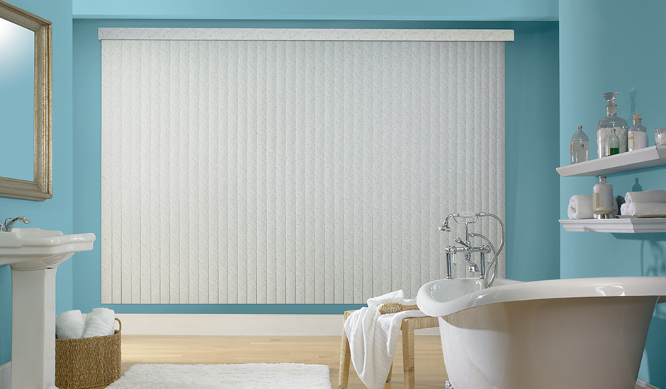 Budget Blinds Signature Series Bathroom Vinyl Blinds