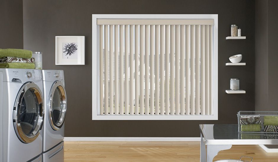 Budget Blinds Signature Series Laundry Room Vinyl Blinds