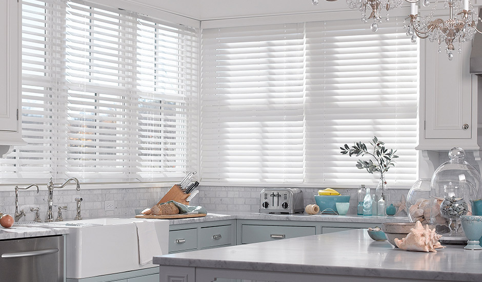 white-wood-blinds-kitchen