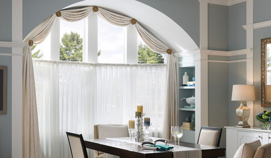 Dining-Arch-drapes