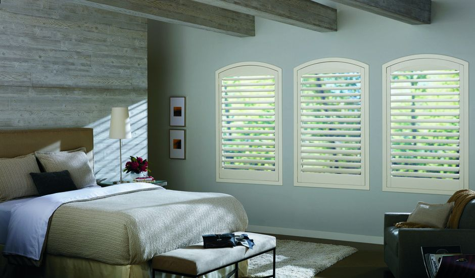 shutters in bedroom