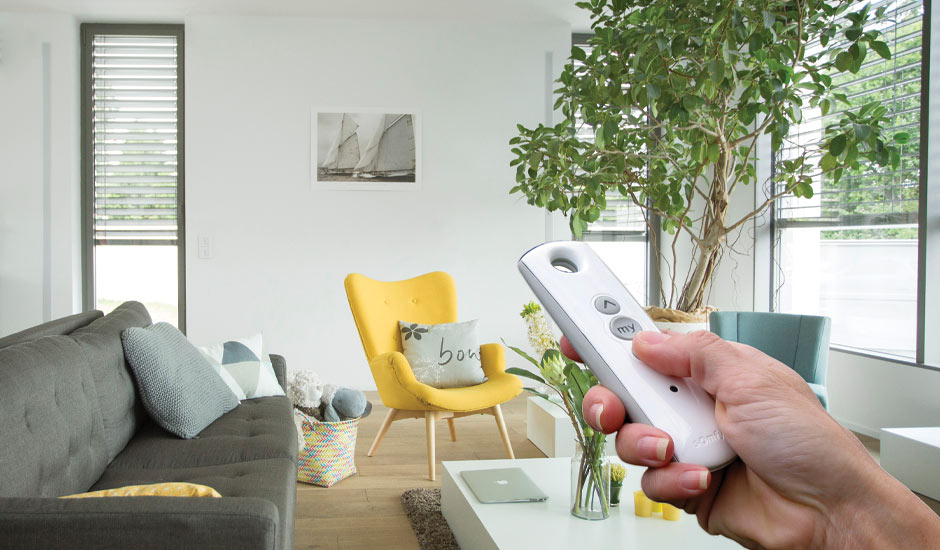 Motorized Blinds Somfy