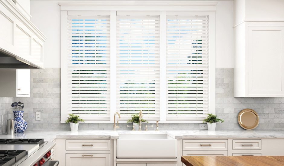 Kitchen Motorized Blinds