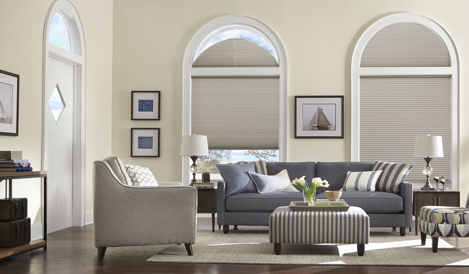 Arched Window Cellular Shades