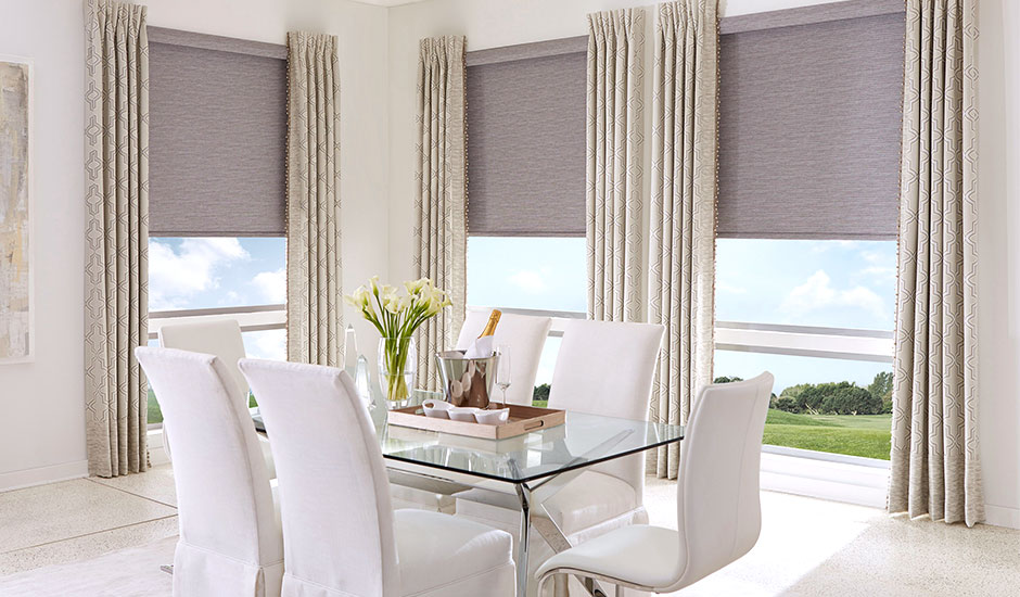 natural-roller-shades-with-drapes-dining-room