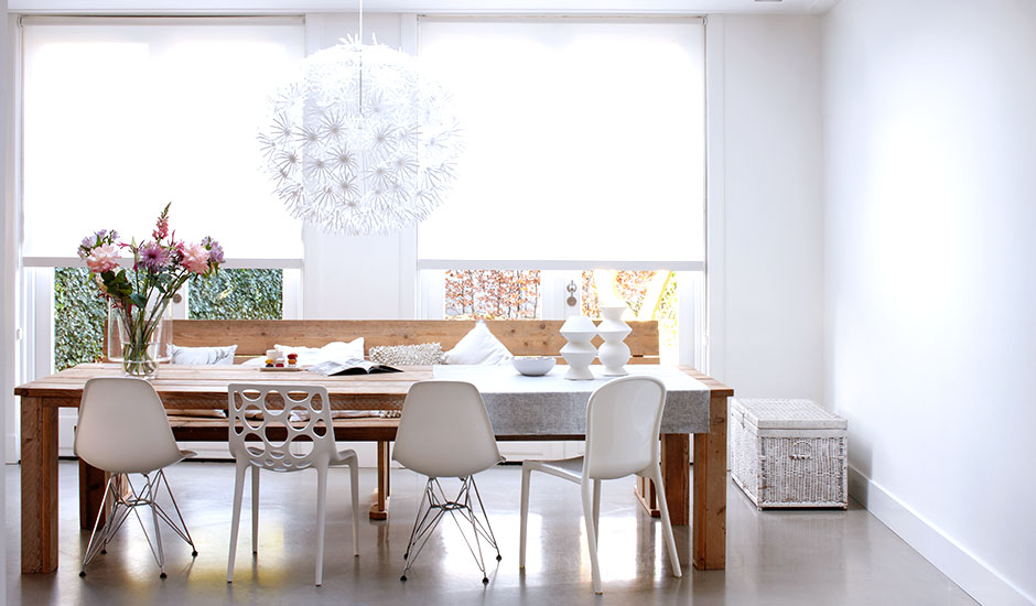white-roller-shades-modern-house