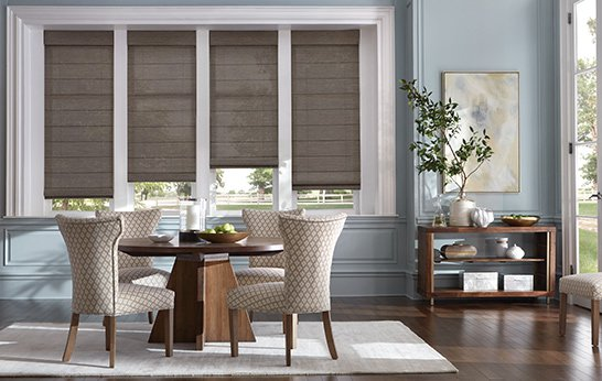 Custom Roman Shades Measure Installation Budget Blinds