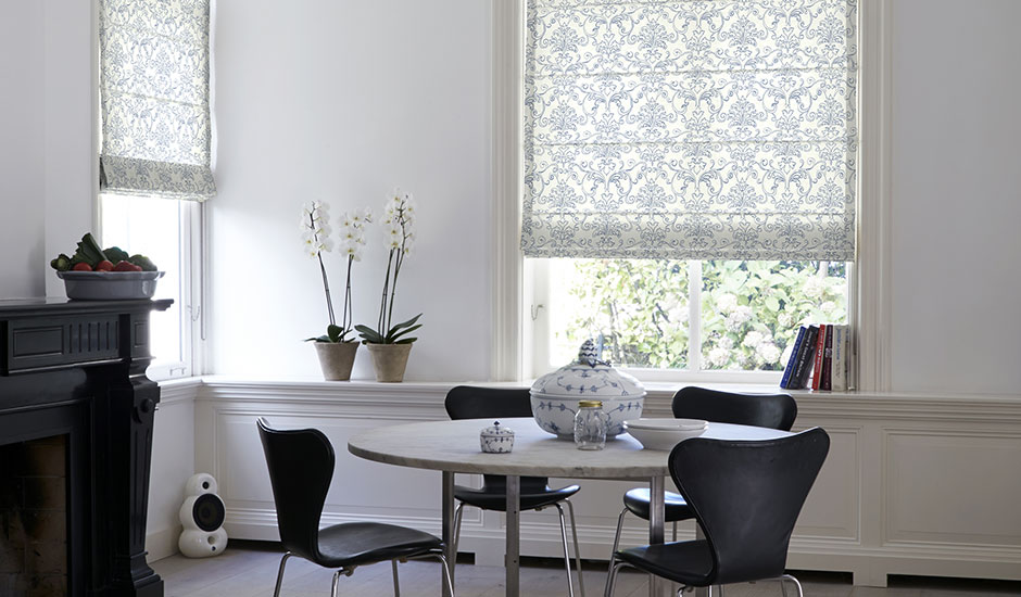 Roman Shades Budget Blinds