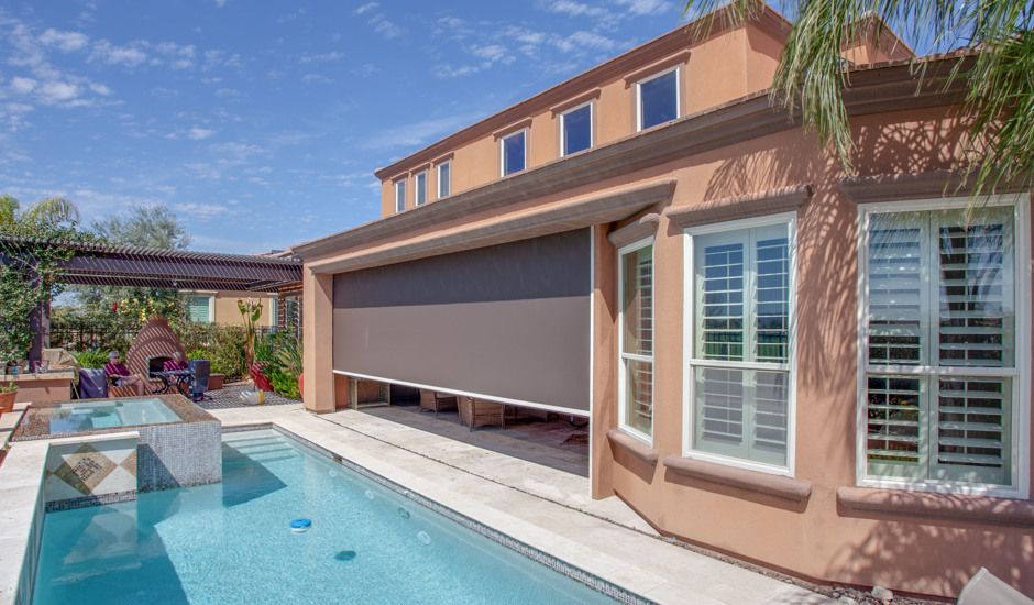 exterior shade pool deck