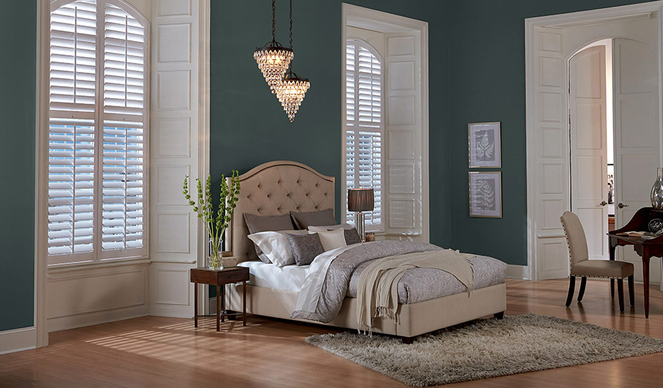 white-shutters-lux-dark-room-tall-windows