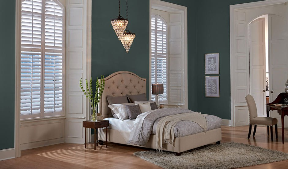 modern-bedroom-white-wood-shutters