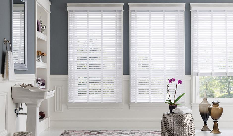 Custom Window Treatments For Bathrooms Budget Blinds