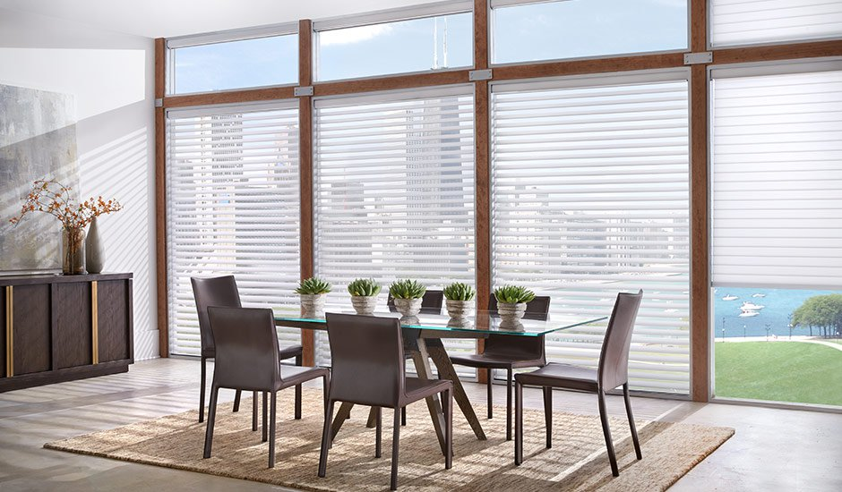 dining-room-white-faux-wood-blinds