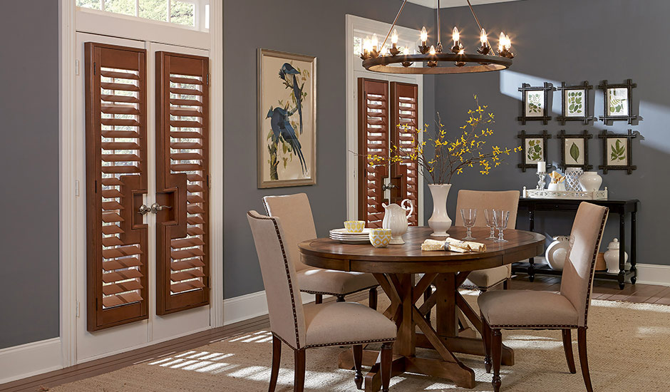 Custom Window Treatments For Dining Rooms Budget Blinds